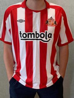 Camisa Do Sunderland- Original E Com Etiqueta