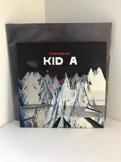 Radiohead Kid A Edición Doble En Vinilo De 10 Pulgadas