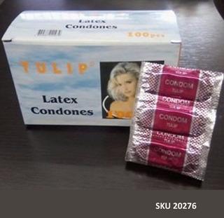 Condones Preservativo Tulip Pague 15 Lleve 20 Unidades W11