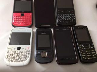 Celular Motorola Nokia Samsung Lote Defeito Leia