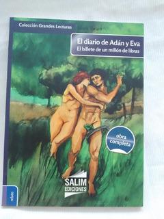 Diario De Adan Y Eva Billete Millon Libras Mark Twain Salim