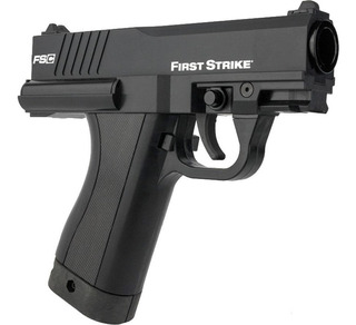 Pistola De Co2 Gotcha First Strike Feed Compacts Paintball