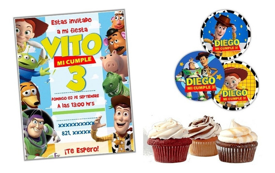 Kit Imprimible Toy Story Candy Bar Personalizado