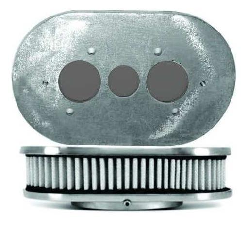 Filtro De Ar Esportivo Alumínio Carburador Weber 40