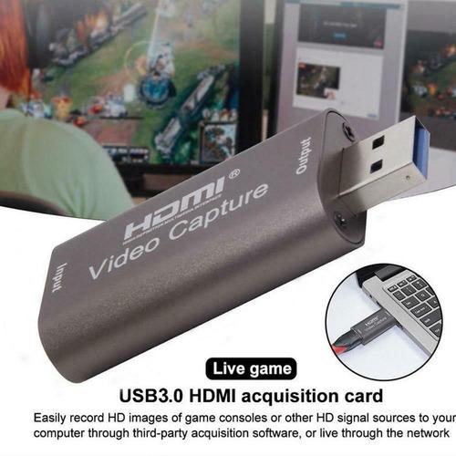 Imagen 1 de 10 de Capturador Video Hdmi A Usb Laptop Pc Graba En Vivo 720x480