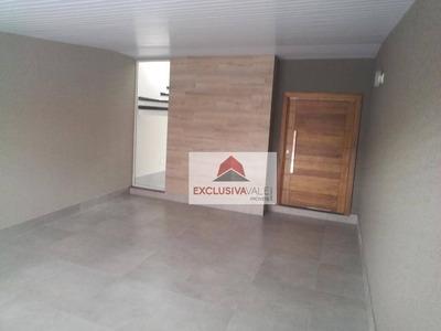 Casa Com 3 Dormitórios À Venda, 175 M² Por R$ 520.000 - Jardim Das Indústrias - São José Dos Campos/sp - Ca0549