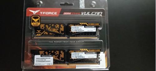 Kit 16gb 2x8gb  3200mhz T Force Vulcan