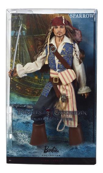 Jack Sparrow - Boneco - Barbie Collector - Mattel T7654