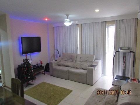 Campo Grande, Lindissima Cobertura Duplex, 3 Quartos, Decorado - Co00010 - 2219098