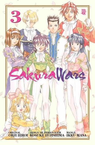 Sakura Wars 3 Trig! Mangá Jbc! Novo E Lacrado!
