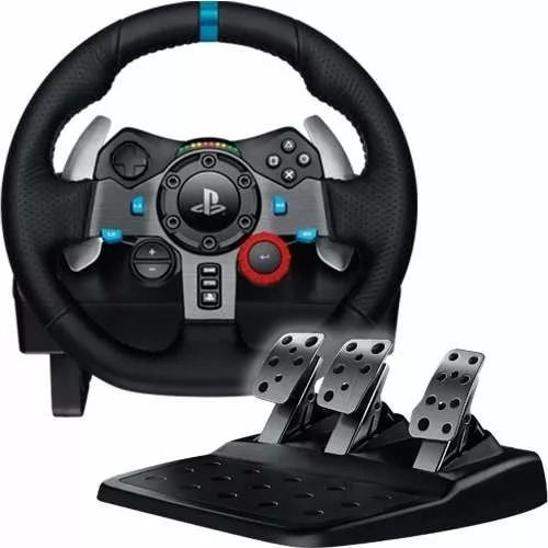 Volante Logitech G29 Gamer + Pedalera Racing Ps4 Ps3 Pc