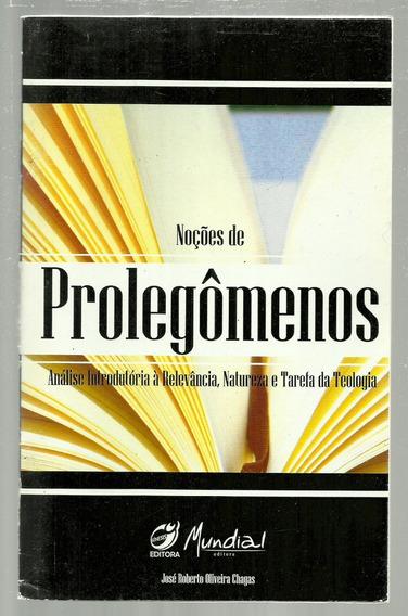 Noções De Prolegômenos - José Roberto Oliveira Chagas