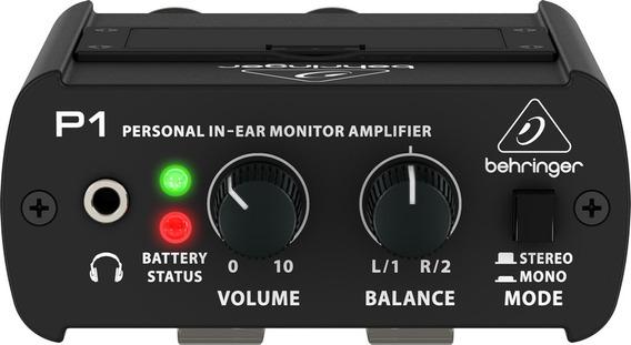 Powerplay Amplificador Behringer P1 - 2 Anos De Garantia