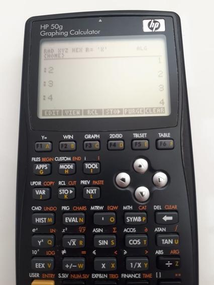 Calculadora Gráfica Hp Modelo 50g