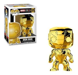 Funko Pop Marvel Marvel Studios 10 - Iron Man (gold Chrome)