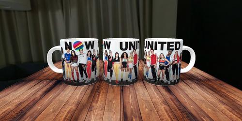 Caneca De Porcelana  Personalizada Now United