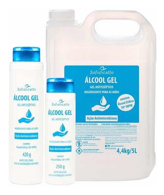 Álcool Gel Aprovado Pelos Órgãos Competentes (anvisa).