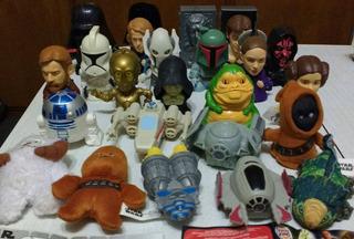 Coleccion Completa De 21 Juguetes Star Wars Burger King 2005
