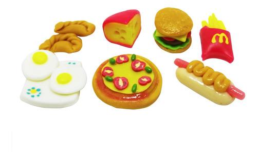 Comiditas Para Barbies 3 Combos + 1 Torta