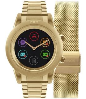Relógio Smartwatch Technos Connect Duo Feminino P01ac/4p