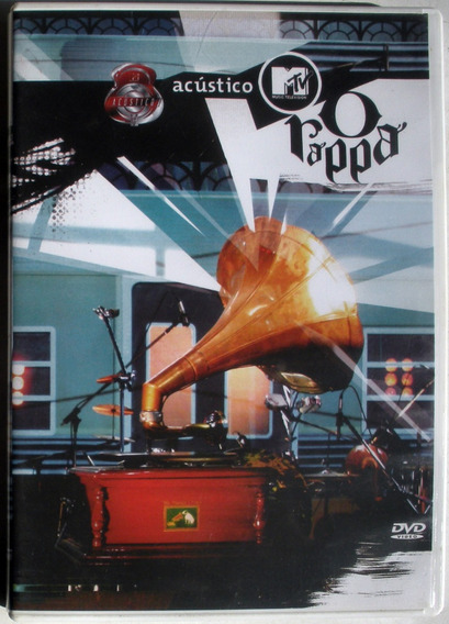 Dvd - O Rappa - Mtv Acustico - Booklet - Imp. Brasil