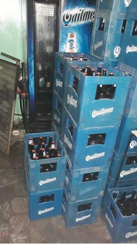 Cajon De Cerveza Vacio. Con Sus 12 Envases.