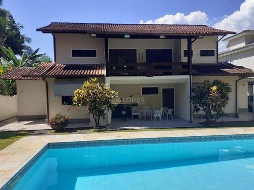 Imagem 1 de 14 de Casa Com 4 Dormitórios À Venda Por R$ 1.800.000,00 - Itaipu - Niterói/rj - Ca21017