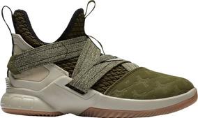 Tenis Nike Lebron Soldier Xii Gs Verde Original Nuevo Caja