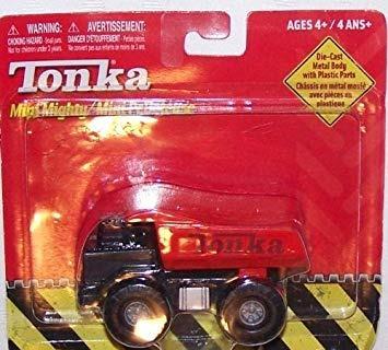 Vehículos De Juego,juguete Tonka Mighty Mini Rojo Camión..