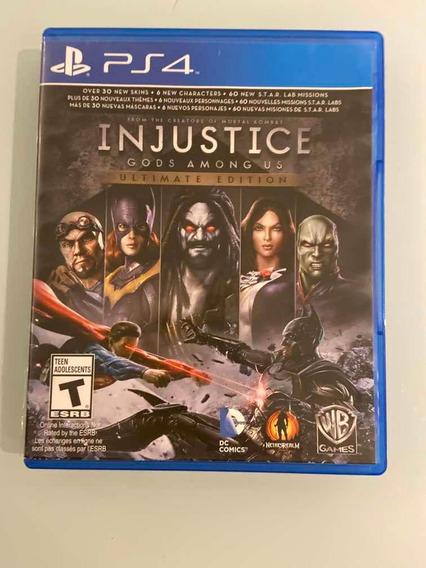 Jogo Injustice Gods Among Us Ultimate Edition Ps4
