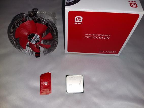 Processador Am3 Athlon 2 X245 + Cooler Novo + Pasta Termica