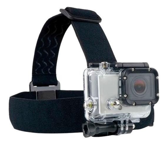 Suporte De Cabeça Átrio Para Câmeras Actioncam Es072 Preto