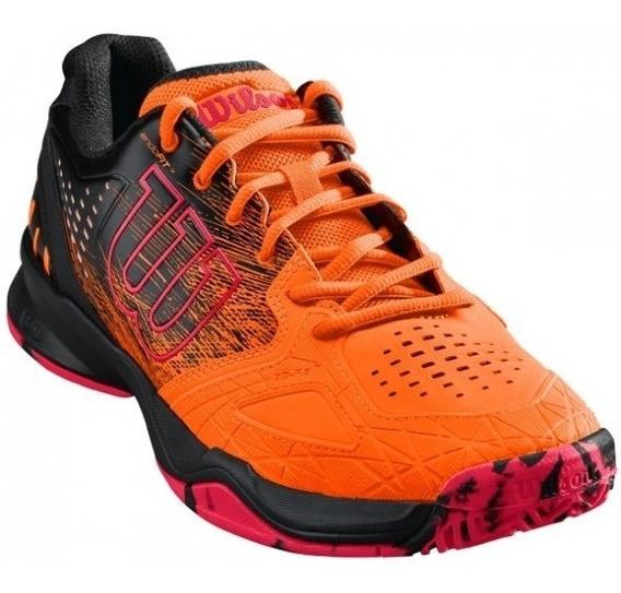 Zapatilla Wilson Kaos Comp Shocking Orange/black/neon Red