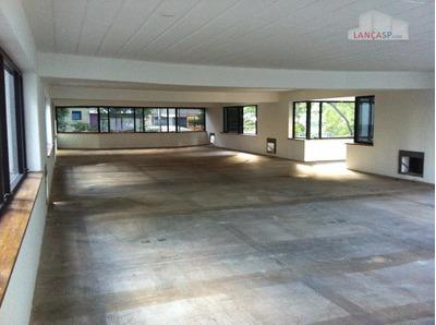 Conjunto Comercial De 245m² Com 5 Vagas No Edificio Fortaleza, Em Sp. - Cj0027
