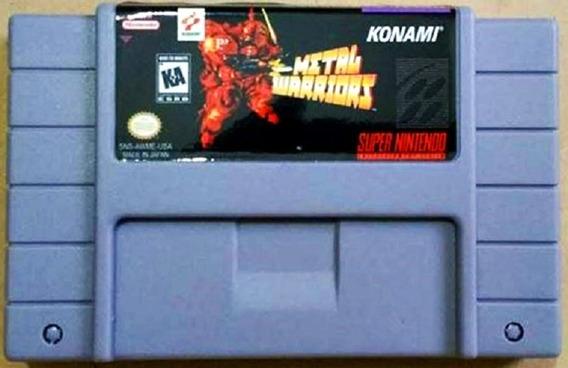 Jogo Metal Warriors Super Nintendo Snes Cartuch Frete Grátis