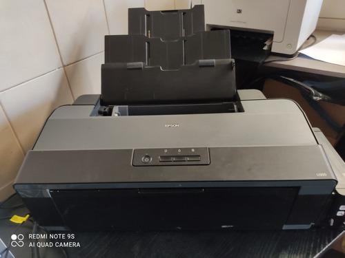Imagem 1 de 5 de Vendo Impressora A3 Jato De Tinta Impecável E Uma Silhouettt