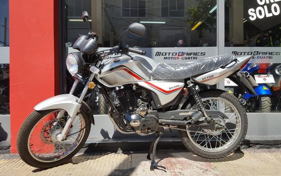 Moto Gilera Vc 150 0km 2019 Freno A Disco Ahora 12 Y 18