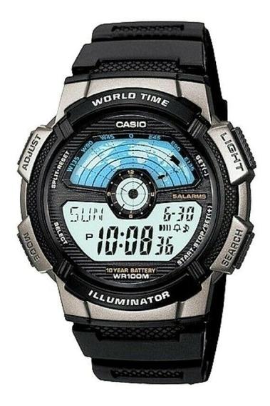 Relógio Casio Ae1100w-1avdf. Fotos Reais. 100% Original