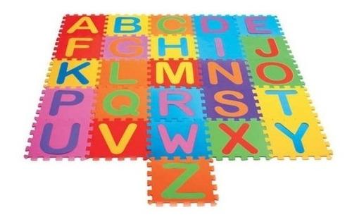 Tapete Tatame Eva Infantil Alfabeto - 30x30cm Educativo