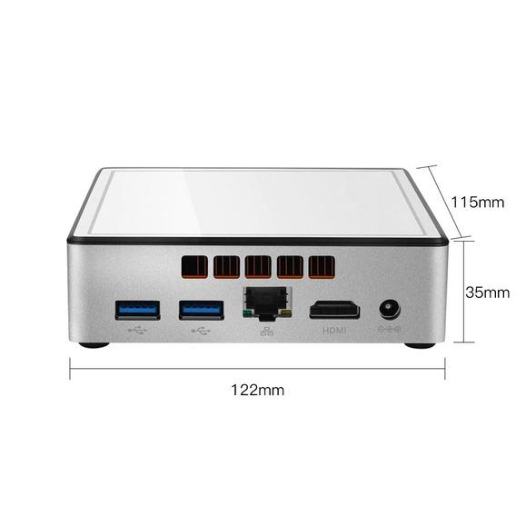 Mini Pc Nuc Intel Compacto I3 8gb Ssd 512gb Windows Wi-fi