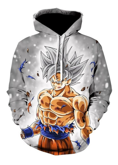 Sueteres para Hombre con Capucha Casual Abrigo Dragonball Z Sudadera Sweatshirts