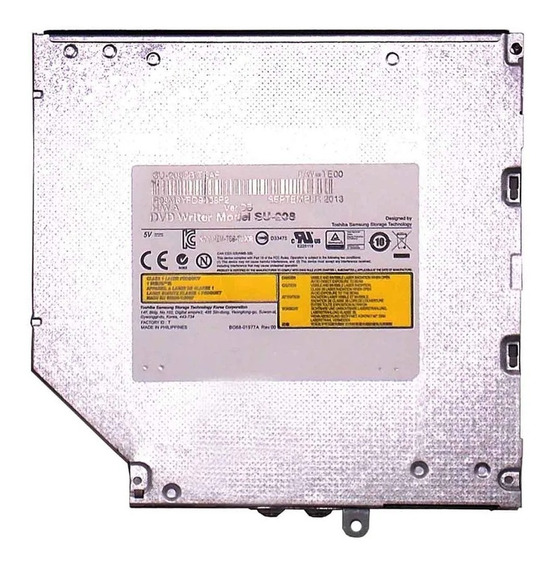 Gravadora Dvd Notebook Slim Espessura 9mm (6383)