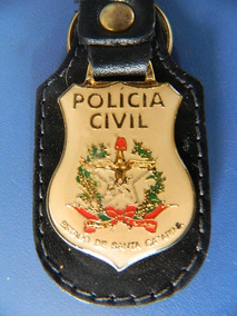 Chaveiro Da Policia Civil Do Estado De Santa Catarina