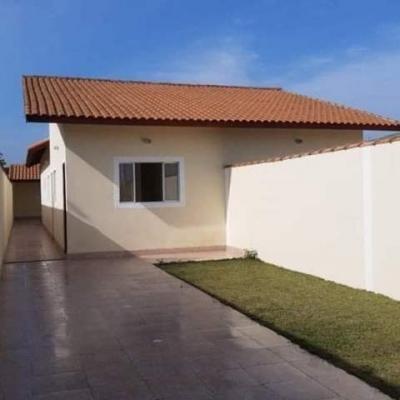 Linda Casa No Bairro Jd Guacira Em Itanhaém Sp - 7071 | Npc