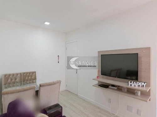 Apartamento Com 2 Dormitórios À Venda, 47 M² Por R$ 300.000,00 - Jardim Nova Petrópolis - São Bernardo Do Campo/sp - Ap3141