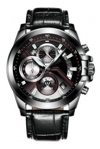 Cadisen 9016 Relógio Multifuncional Masculino A Prova De Águ