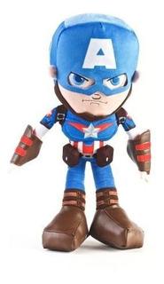 Capitan America Muñeco Peluche 40cm Marvel Original 27087