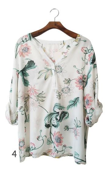 Roupas Femininas On Line Blusa Camisa Social Moda Plus 049