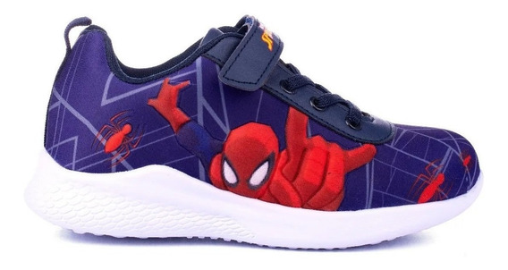Zapatillas Marvel Spiderman 24/34 Sin Luces Fty Calzados