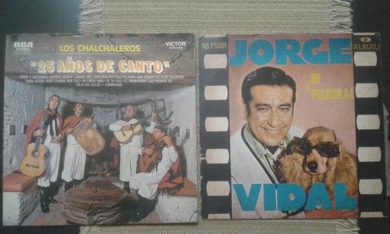 Lote De 6 Discos Originales Chalchaleros Larralde